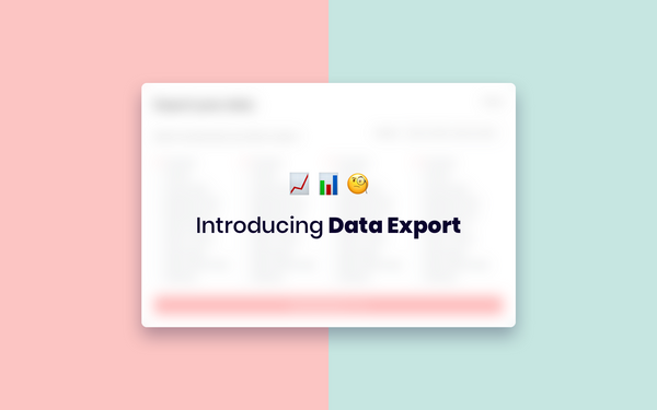 New in Humaans: Data Export
