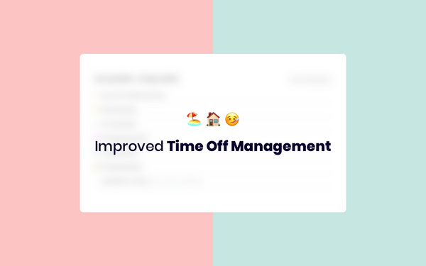 New in Humaans: Improved Time Off Management