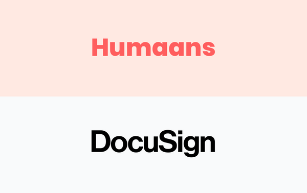 New in Humaans: DocuSign integration